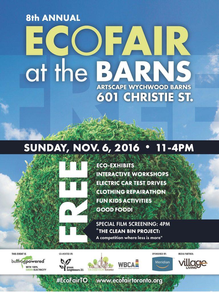 8th Annual EcoFair at the Barns | Toronto Green Community